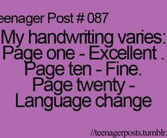 Teenager Posts, Relatable Posts, and lolsotrue Posts - image ...