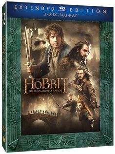 Hobbit: Smaugs ödemark - Extended Edition (Blu-ray) (3 disc) (Blu-ray)