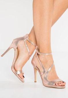 Chaussures Miss Selfridge CALLIE - Sandales à talons hauts - rose gold or rose: 55,00 € chez Zalando (au 13/01/17). Livraison et retours gratuits et service client gratuit au 0800 915 207.