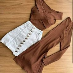 Trendy Outfits for Teens Girls Fashion Clothes, Teen Fashion Outfits, Mode Outfits, Skirt Outfits, Cute Fashion, Outfits For Teens, Clothes For Women, Fashion Spring, Look Fashion