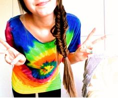 Everyone should have at least one tye dye shirt.