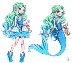Ever After High - OC mermaid by KagomesArrow77.deviantart