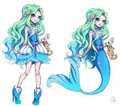 Ever After High - OC mermaid by KagomesArrow77.deviantart