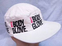 Vintage 80s Body Glove painter cap hat 1989 rare by CheAmeVintage