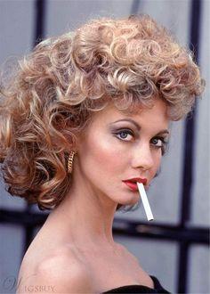 Susan Sarandon Hair Type Curly Synthetic Hair Women Wig