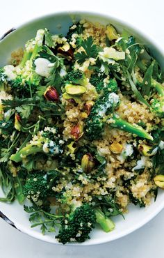 Broccoli Quinoa Salad recipe: Healthy lunches, forever and ever