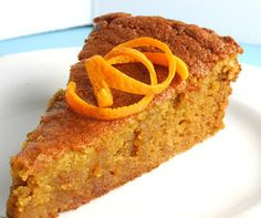 Almonds make all the difference in this Portuguese moist orange and carrot cake recipe (receita de bolo de laranja e cenoura húmido). Enjoy after a meal with. Scd Recipes, Cake Recipes, Cooking Recipes, Food Cakes, Paleo Dessert, Orange Carrot Cake Recipe, Healthy Orange Cake, Citrus Cake, Apple Cake