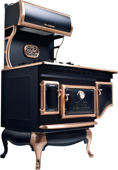 Elmira stove works.....I want one of these! Too bad it's about $8000 for the one I want :(