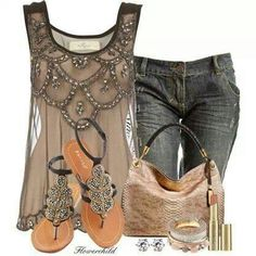 Great summer outfit from Stylish Guru