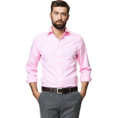 PINPOINT OXFORD FITTED SHIRT