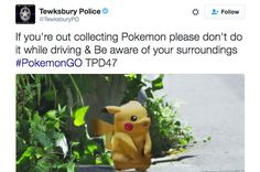 Police Departments In The U.S. Are Issuing Some Hilarious Warnings About Pokémon Go - BuzzFeed News