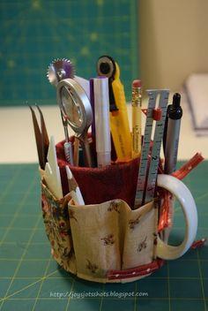 Joy's Jots, Shots & Whatnots: Mug Organizer