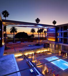 The Shore Hotel Gensler in Santa Monica, California