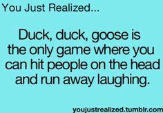 Hahahahaha!!!!!! You Just Realized....