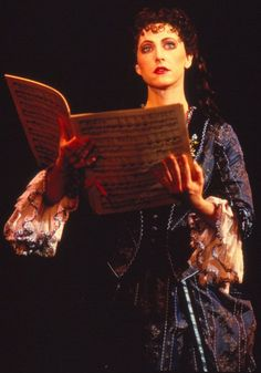 """Rita Harvey made her Broadway debut performing the role of Christine Daae in """"The Phantom of the Opera."""""""