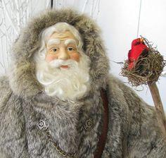 Grand père Noël poupée : Santa de bois par FatherChristmasJoy