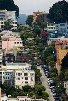 San Francisco- lombard street