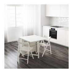 I already posted this, but this one is in white.  - NORDEN Gateleg table  - IKEA