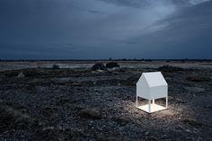 Light House [indoor/outdoor light] by Thomas Sandell for Zero Modern Lighting, Outdoor Lighting, Lighting Design, Backyard Office, House Lamp, Creative Architecture, Japanese House, Modern House Design, Decoration