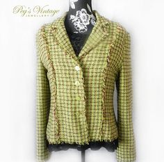 A personal favorite from my Etsy shop https://www.etsy.com/ca/listing/268698384/vintage-fringe-jacket-size-large-green