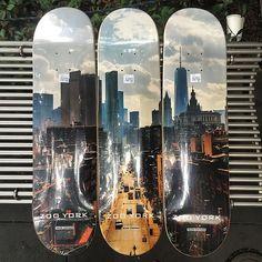 Sean Cronan photo series skateboard decks by zooyorkofficial