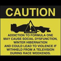 Caution - #f1 www.motorhappy.co.uk