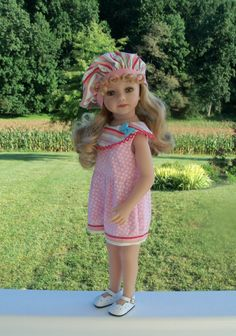 3e1314908068 Summer Shorty Playsuit and Hat for 20