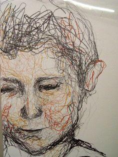 Pencil on Gesso Self Portrait Drawing, Portrait Art, Metamorphosis Art, Advanced Higher Art, High School Art Projects, Scribble Art, Ap Studio Art, Pastel Portraits, Ap Art