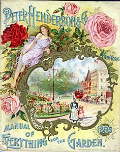 Perter Henderson & Co, 1899- Manual of Everything for the Garden; New Your, NY SIL08-10133-a border=