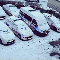 Meantime at the police station someone was freeze to bored