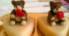 Orsetti di pasta di mandorla per San Valentino: ricetta