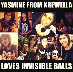 #Krewella #Invisible balls