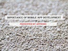 """Appzoro_Mobile_app_development_atlanta"" published by ""appzoro"" on @edocr"