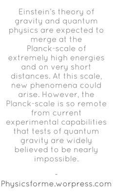 Relativity and Quantum physics