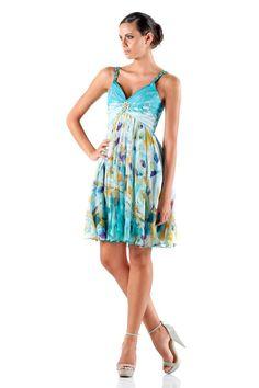 #glamour #fashion #springsummer 2014 #woman #girl #cocktaildress  #partydress #dress #minidress #day #flowers #fantasia #aperitif
