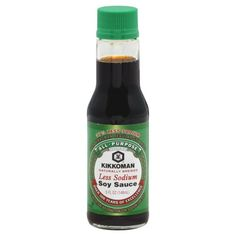 Kikkoman Soy Sauce Less Sodium 5 Ounce Pack of 4 -- You can get more details by clicking on the image.Note:It is affiliate link to Amazon.