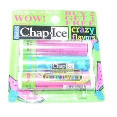 Chap-Ice SPF 4 Premium Lip Balm, Crazy Flavors (Watermelon