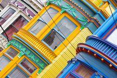 Victorian architecture in San Francisco.