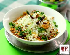 Ghee Almond Rice
