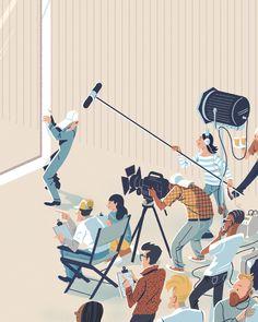 Adobe illustrations on Behance Flat Illustration, Character Illustration, Illustrations, Digital Illustration, Isometric Sketch, Isometric Design, Character Design Animation, Character Art, Christ Is Risen