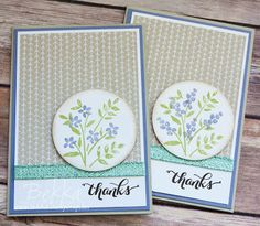 Stampin' Up! UK Feeling Crafty - Bekka Prideaux Stampin' Up! UK Independent Demonstrator: Number Of Years Thank You Cards
