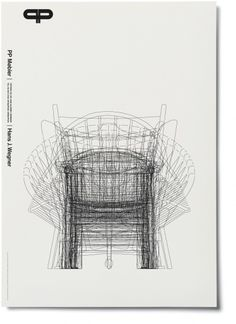 poster of hans j.wegners chairs from the danish craftsmen and furniture makers pp møbler when i visited their workshop www. Danish Furniture, Furniture Catalog, Modular Furniture, Furniture Showroom, Scandinavian Furniture, Furniture Logo, Types Of Furniture, Steel Furniture, Furniture Layout
