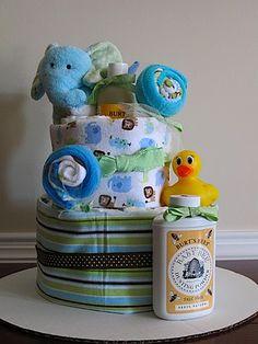 Cute baby shower idea