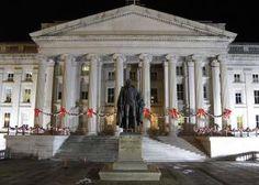 25 Washington, DC Buildings That History Buffs Should Visit: U.S. Treasury Building