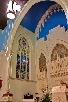 Interior decoration and mosaics, LCT Louis Comfort Tiffany, Lutheran, Mosaics, Barcelona Cathedral, Advent, Taj Mahal, Interior Decorating, York, Decoration