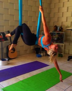 Jupiter of AjnaLife.com Aerialist & Specialty/Vinyasa Yoga Instructor Acro through Zen (& most everything in-between) Suspended Apparatus, Trapeze, Rope, Cloud Swing, Aerial Cradle, Aerial silk, Aerial Hoop, Aerial Straps Sling, Hammock, Silks, Tissue, Fabric Aerial Hammock, Aerial Dance, Aerial Hoop, Aerial Silks, Love Fitness, Types Of Yoga, Yoga Accessories, Vinyasa Yoga, Body Inspiration
