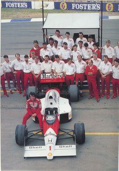 Ayrton Senna McLaren 1989