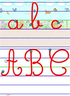SEQUENCE L'ALPHABET et L'ORDRE ALPHABETIQUE: JEU – RITUELS – EXERCICES – MEMOS – ReCreatisse