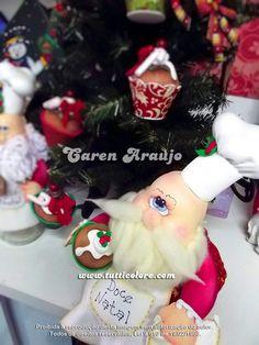 Tutti Colore by Caren Araujo: Noel cozinheiro e seus cupcakes!