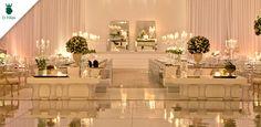 Belíssimo casamento em Goiânia, com a decoração da Enjoy Festas.